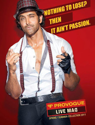 Hrithik Roshan Provogue magazine photoshoot