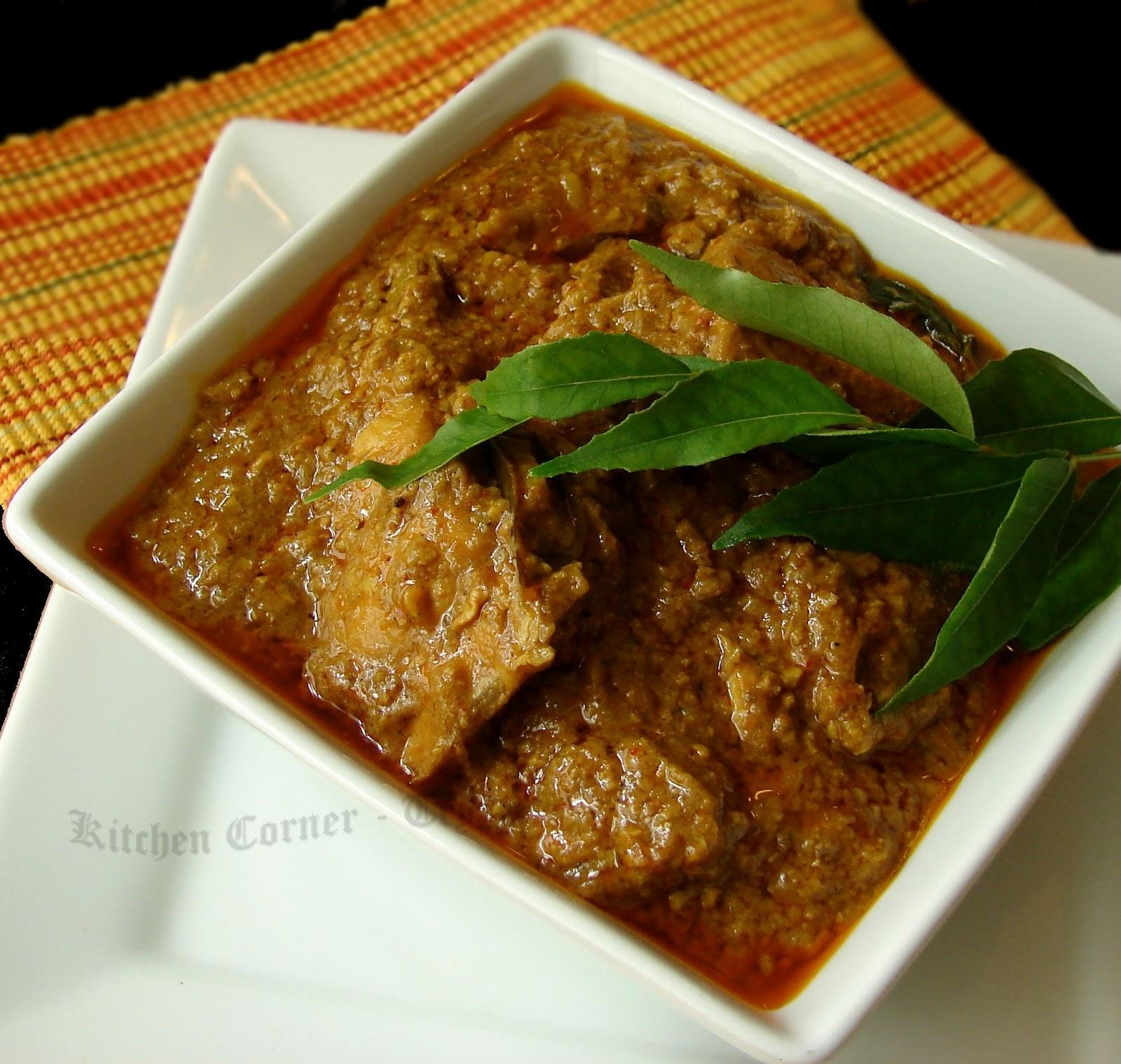 Kitchen Corner-Try ItMalabar Chicken Curry