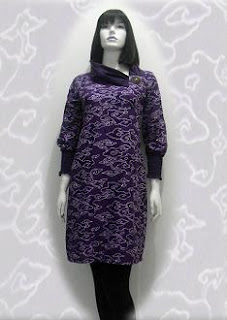 PO A43 MODEL BAJU BATIK WANITA MODERN