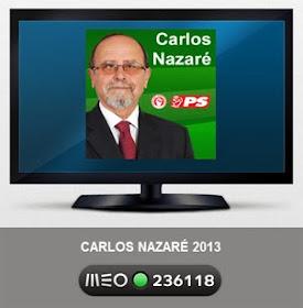 Veja o Canal Oficial da candidatura do PS Rio Maior na TV!