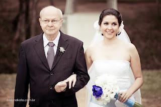 Fotógrafo Casamento Porto Alegre - Foto de Babi Nakata - noiva com o pai