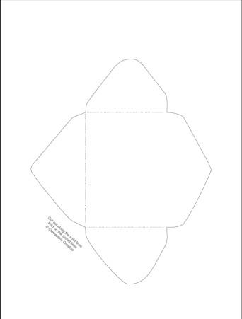 free printable mini envelope templates and liners. Black Bedroom Furniture Sets. Home Design Ideas