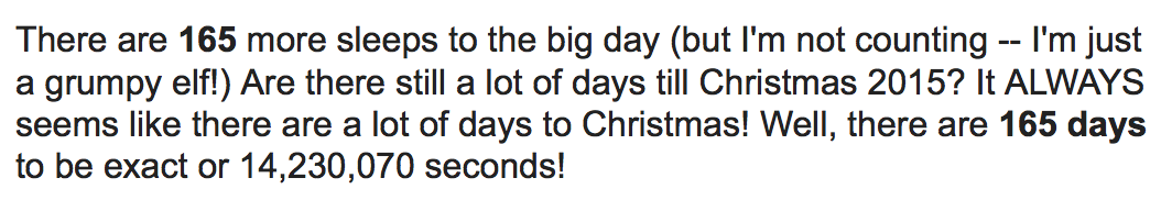 i took a moment to google how many more days until christmas because i was way too lazy to do the counting on my own check out this hilarious response - Google How Many Days Until Christmas