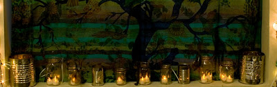 Window+candles - Easy DIY Holiday Decor