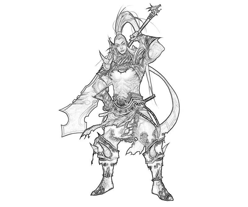 atlantica-swordman-armor-coloring-pages
