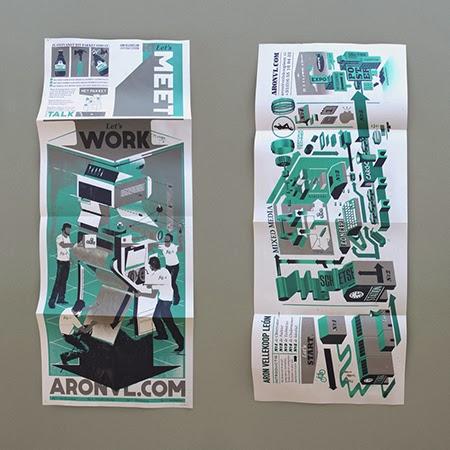 Las ilustraciones y diseños de Aron Vellekoop León