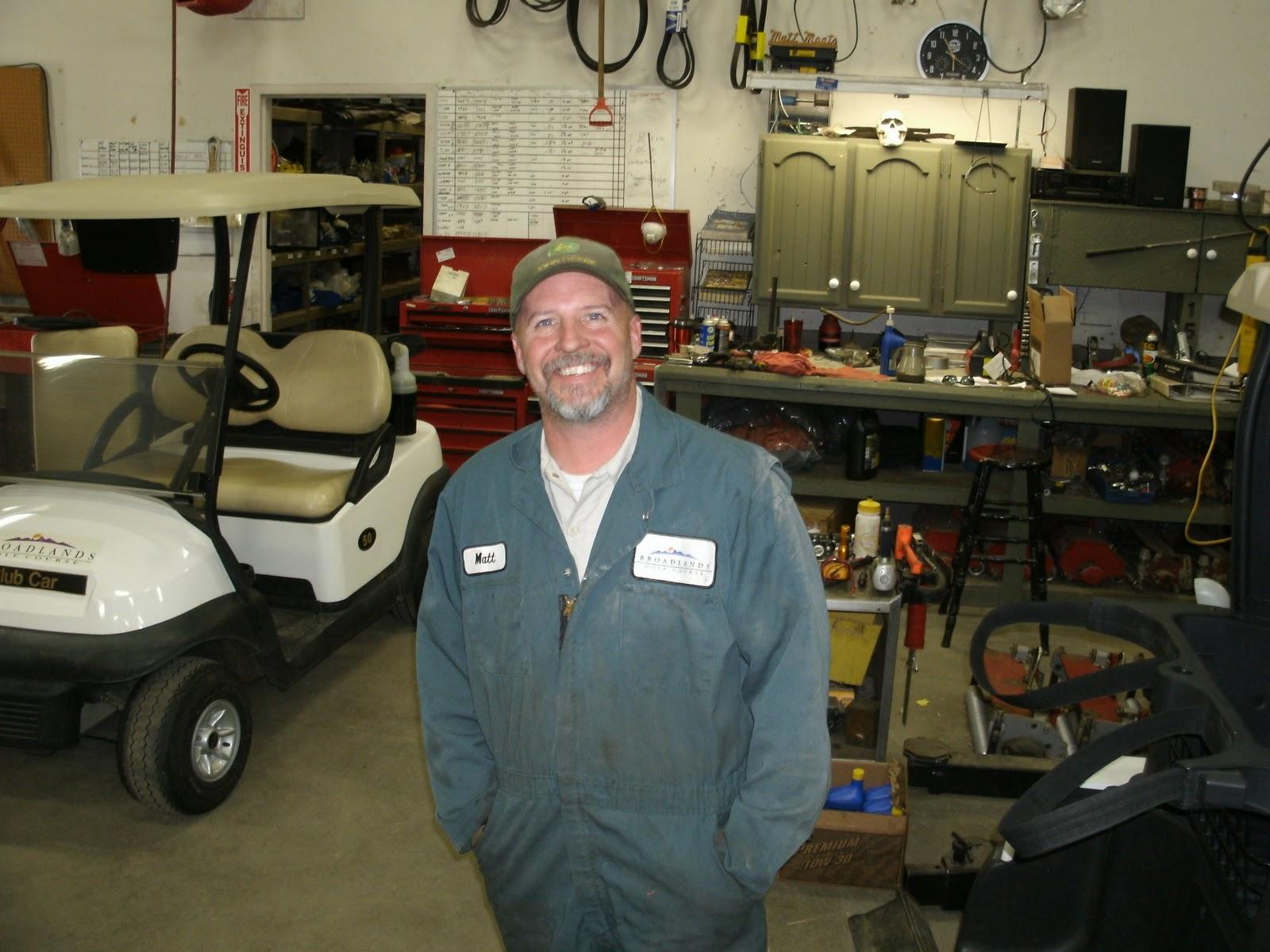 The broadlands golf course maintenance update staff