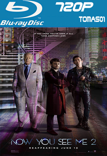 BRRip2B720p - Now You See Me 2 (2016) [BRRip 720p/Subtitulado] [Multi/MG]
