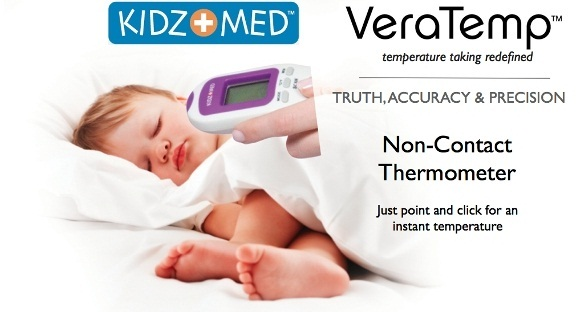 kidz med thermometer instructions