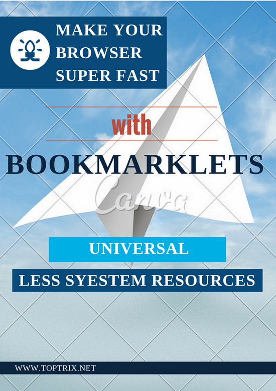 bookmarklets-make-browser-fast