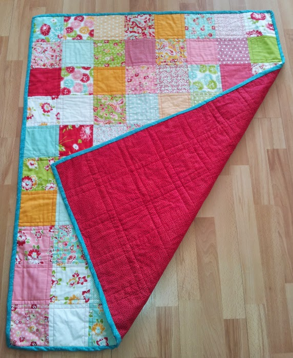 First Quilt by Joanne