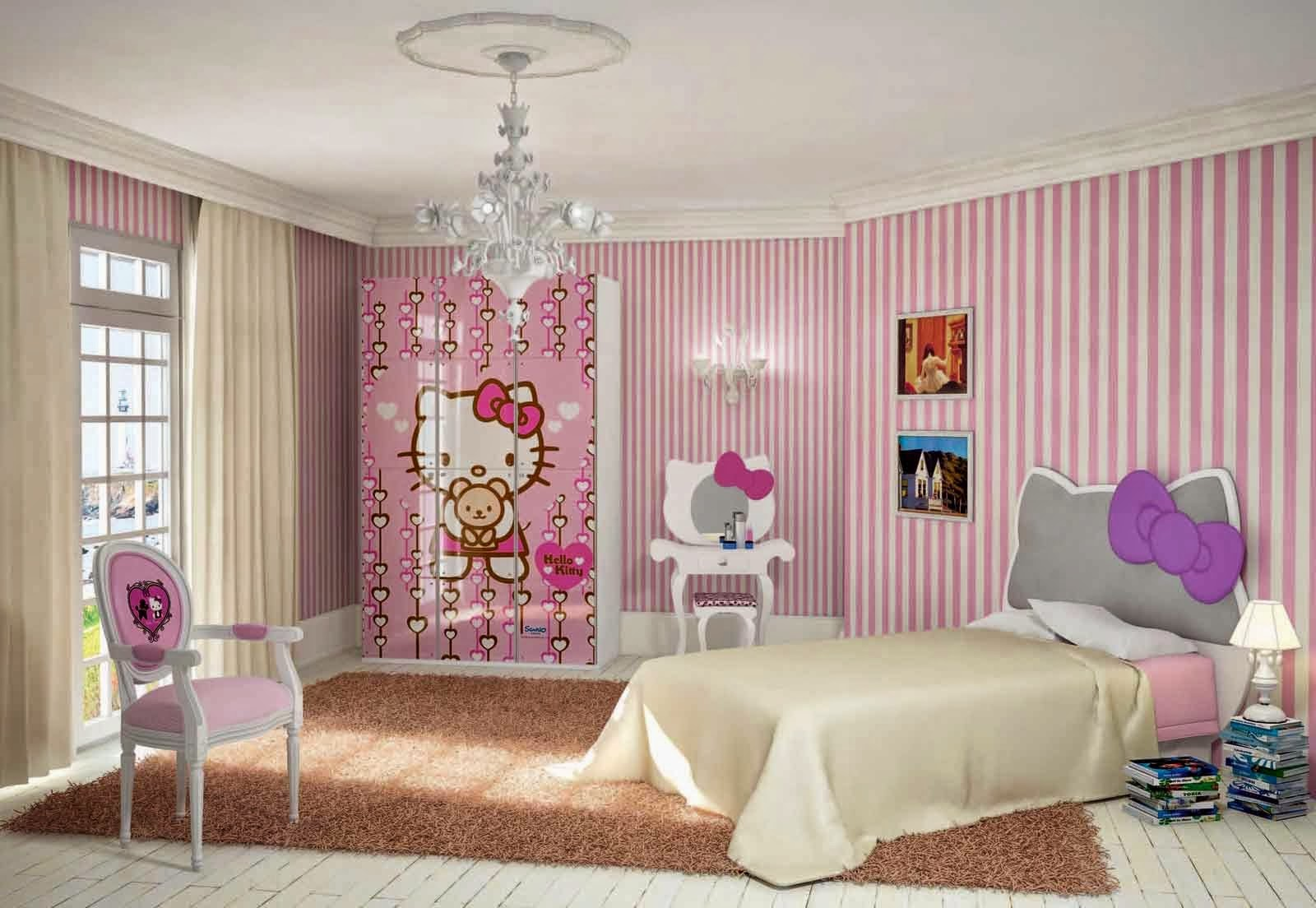 Bedroom interior design hello kitty 2015 home inspirations for Bedroom decoration 2015