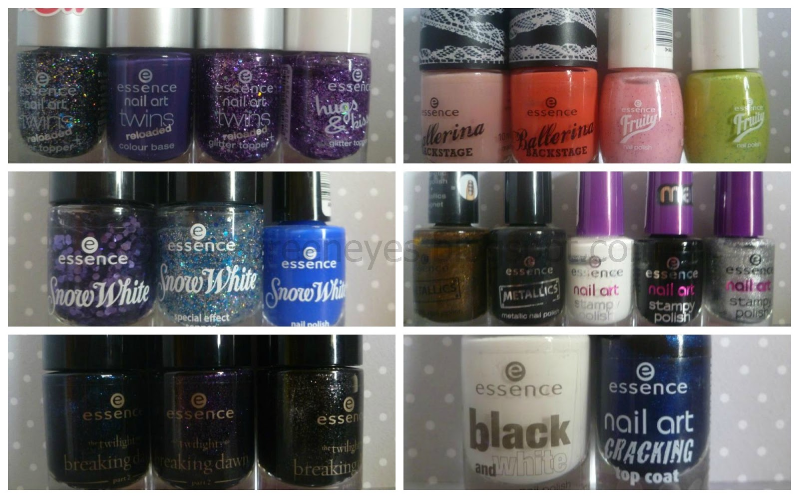Behind Green Eyes: My Nail Polish Stash (Picture Heavy)