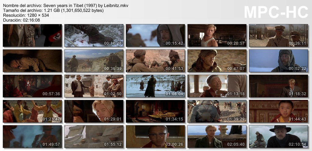 Siete años en el Tibet [720p] [Dual Lat-Ing] [MF - MG]