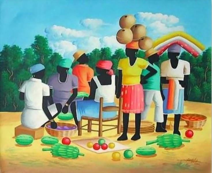 bonitas-pinturas-decorativas-de-negras-africanas