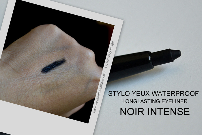 Les Essentiels de Chanel Makeup Collection Fall 2012 Beauty Blog Swatches Stylo Yeux Longlasting Eyeliner Noir Intense