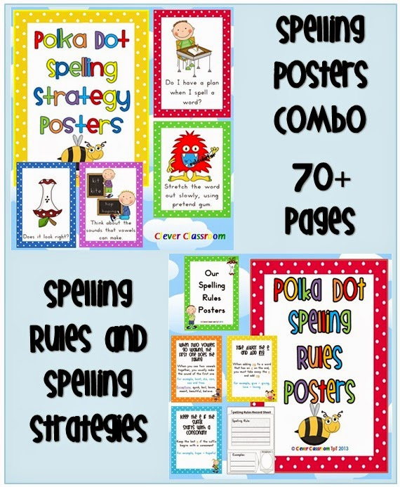 Spelling Rules and Spelling Strategies COMBO file