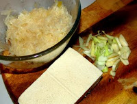 how to cook Chinese style sauerkraut with frozen tofu