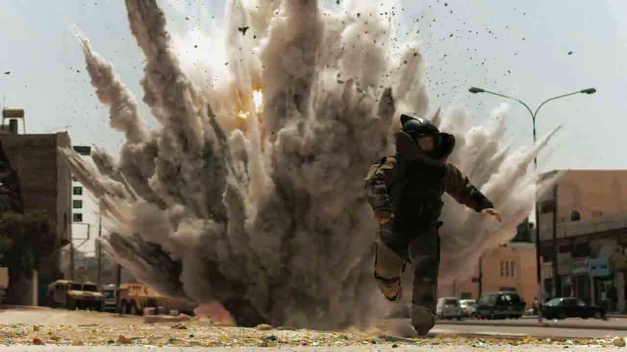 Single Resumable Download Link For Hollywood Movie The Hurt Locker (2008) In  Dual Audio