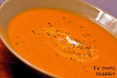 Cómo preparar crema de zanahorias