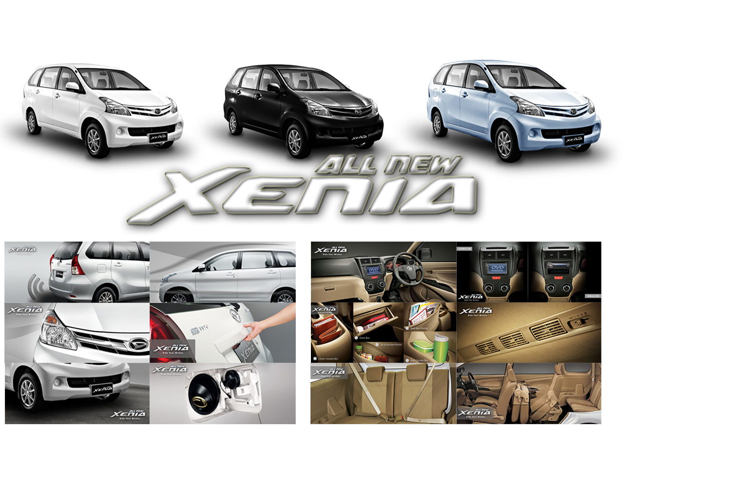 Daihatsu Authorized Dealer Makassar  All New Xenia Spec