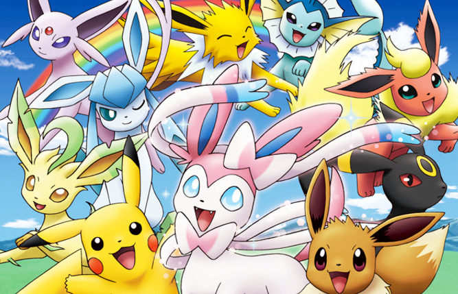 Download image Pokemon Pikachu And Eevee Friends PC, Android, iPhone