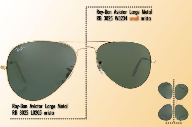 dimensiuni ray ban aviator rb 3025