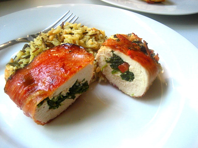 ... Snacks: What's for Dinner? Stuffed Chicken Breasts Mediterranean Style