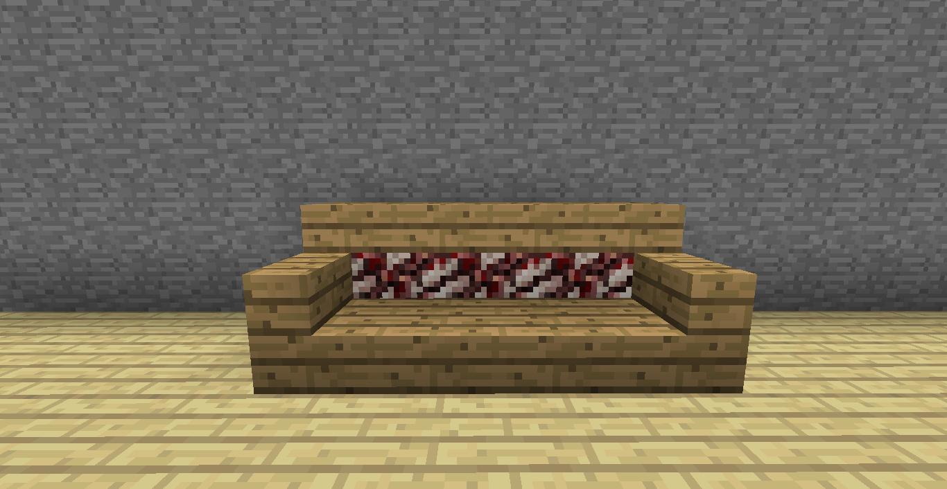 MINECRAFT: Muebles y decoración en Minecraft sin mods