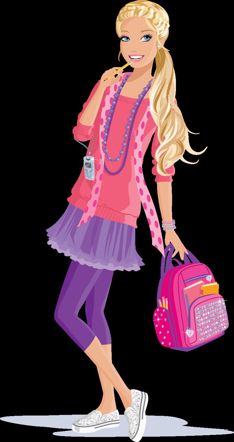 dibujo barbie: