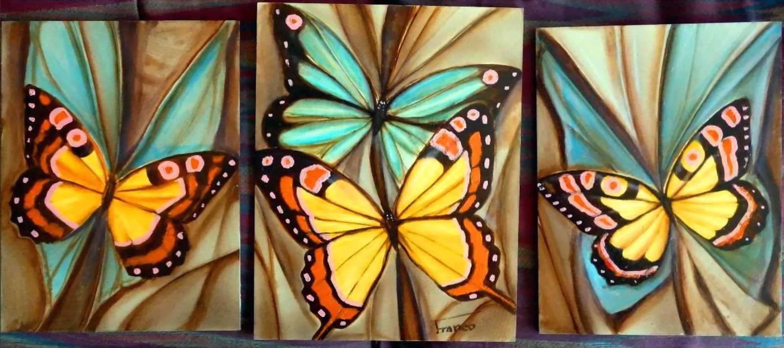Pintura moderna y fotograf a art stica oleos modernos decorativos - Cuadros modernos para pintar ...