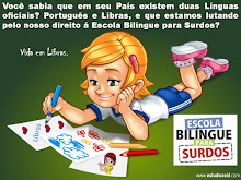 Eu apoio a Escola Bilíngue!