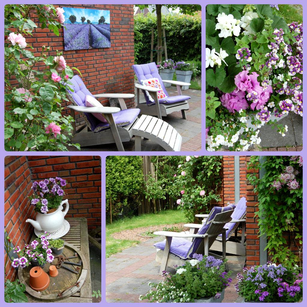 scraptime  een beetje vakantie in eigen tuin
