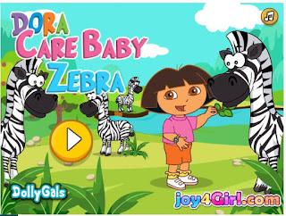 http://meusjogosdemeninas.uol.com.br/jogo/dora-cuidar-da-zebra.html