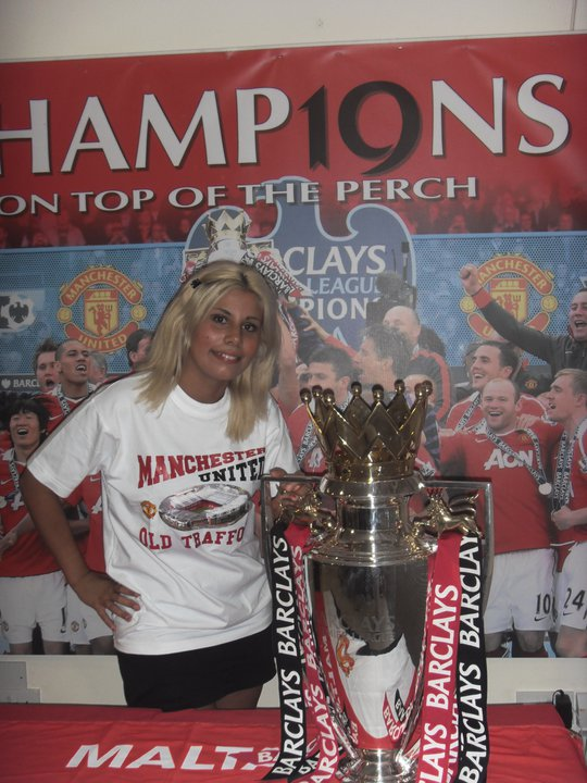 Manchester United champions, again