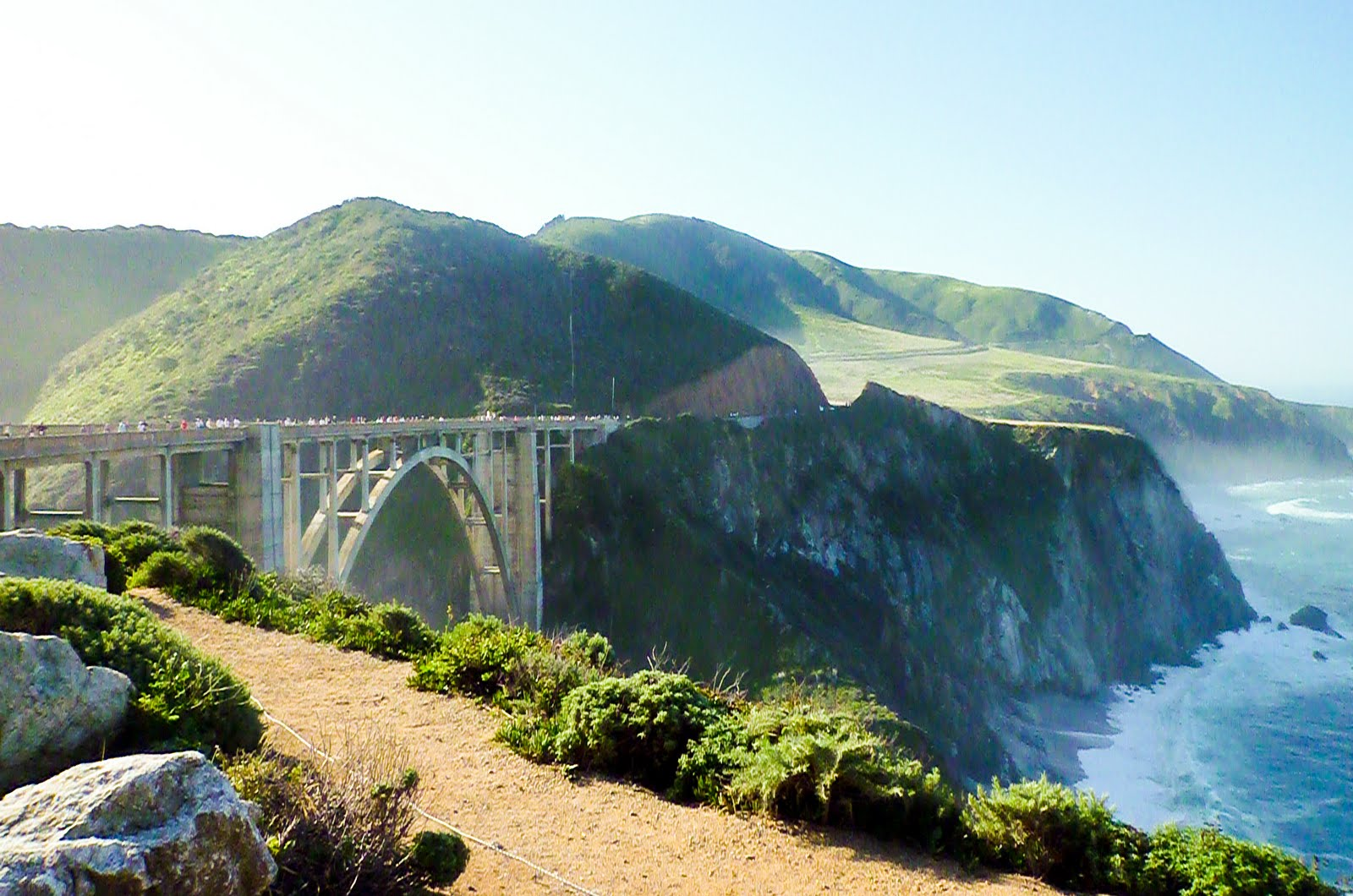 big sur Big sur campground & cabins is surrounded by private property, but there are wonderful beaches just a short drive away along highway one andrew molera state park is located 2½ miles north.