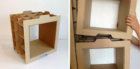 Evden eve nakliyat ikayetleri karton koli kitaplik for Diy modular bookcase
