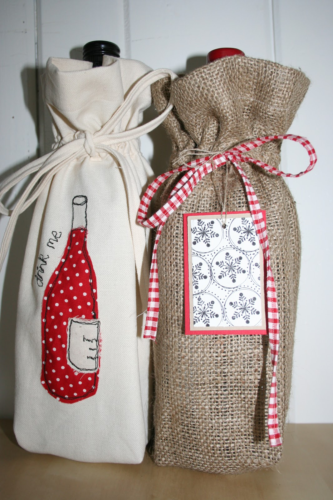 These Bags Have Been Made With A Definite Festive Feeling However You Could Adapt To Suit Any Occasion Depending On The Fabrics And Embellishments