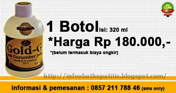 Harga Jelly Gamat Gold G