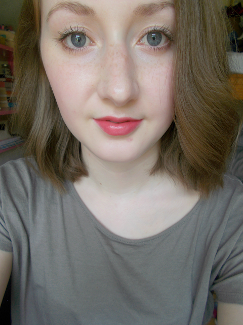 I ♡ Makeup Lip Geek in 'Just Have Fun' review swatches makeup revolution neutral nude pink