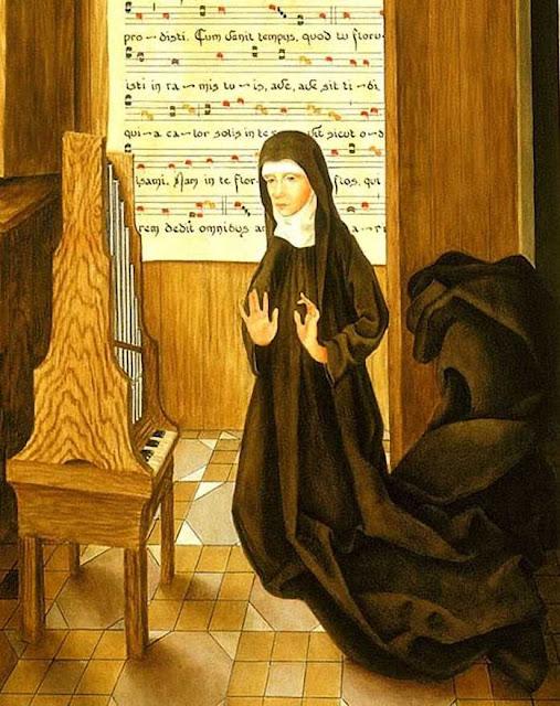 Santa Hildegarda, abadessa de Bingen