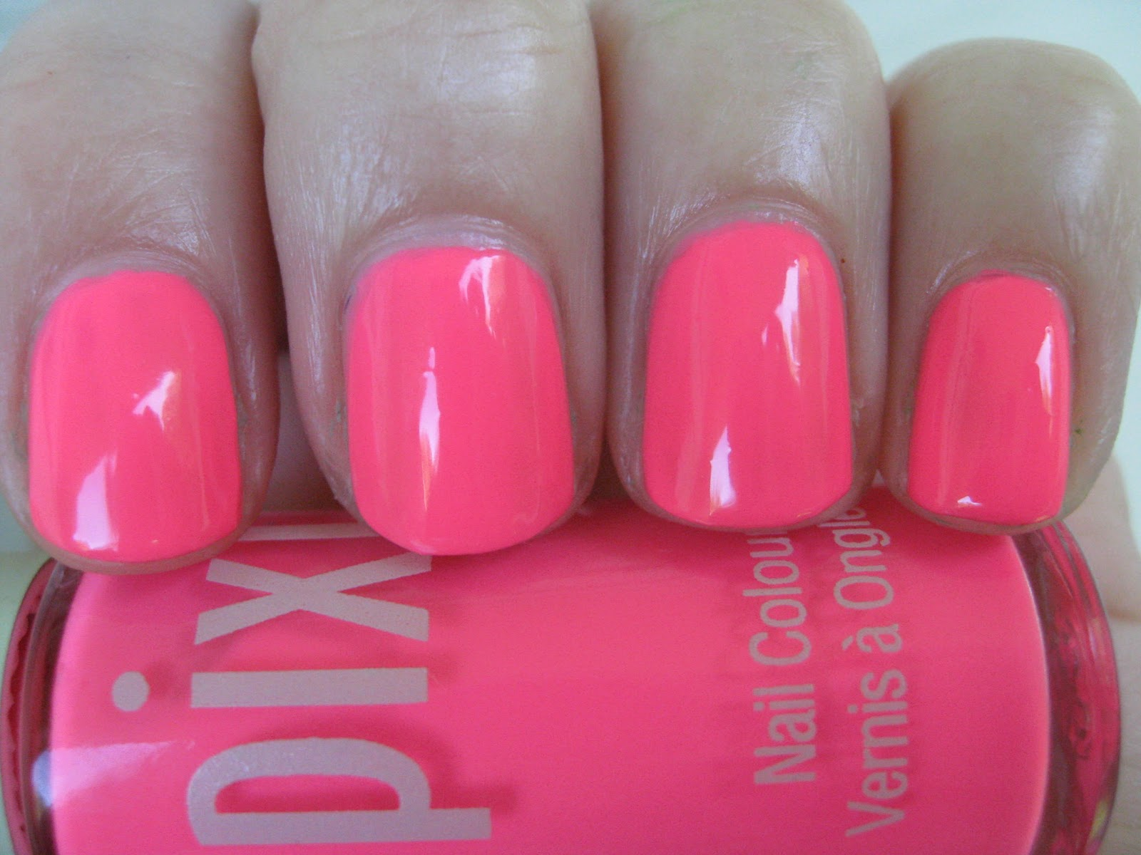 Neons Are A Huge Nail Trend This Season As I M Sure You Ve Noticed Neon Means Business It Is Bright Even More So