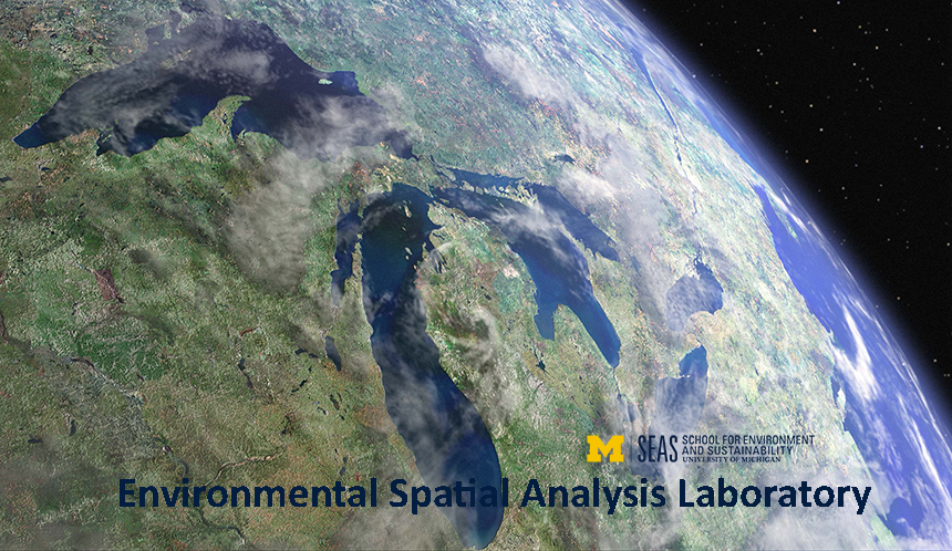 Environmental Spatial Analysis Lab, University of Michgian
