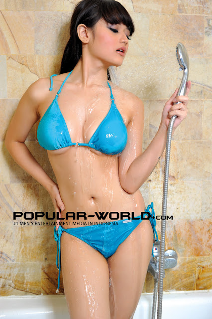 Kumpulan Foto Sexy Gladysta, Model Hot Majalah Popular