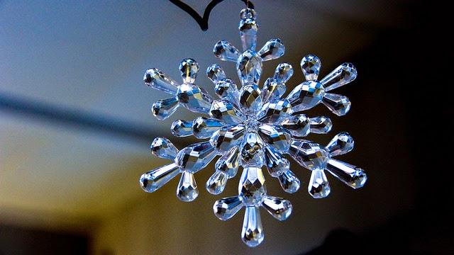 D co bricolage loisirs cr atifs tutos couture et - Flocon de neige decoration ...