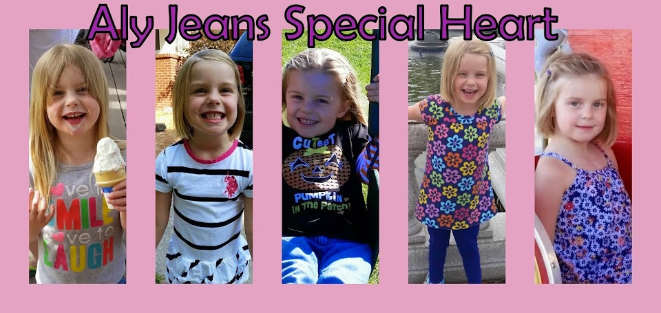 Aly Jean's Special Heart