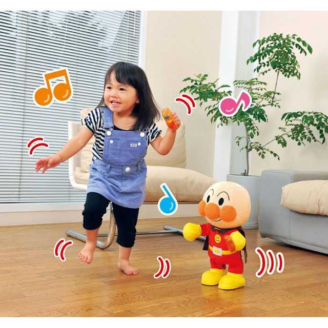 跳、拍、學節奏、教體操舞的麵包超人兒童幼教智育玩具 產品