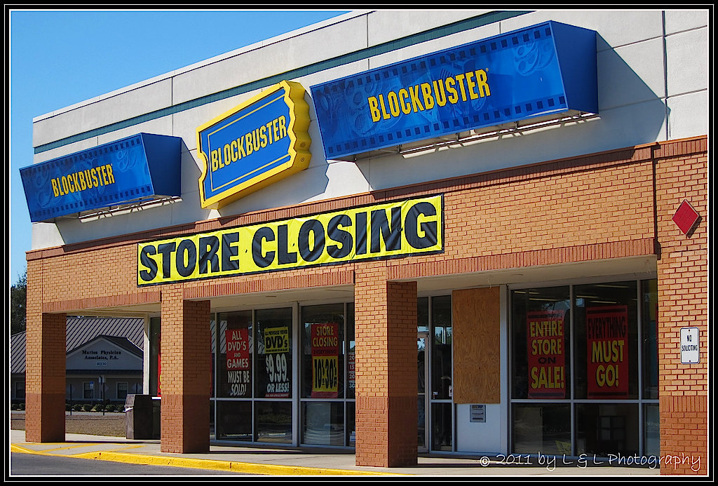 closing of blockbuster Despite our closing of the physical distribution elements of the business, we  continue to see value in the blockbuster brand, and we expect to.