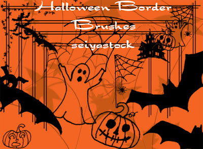 Brushes Halloween Photoshop