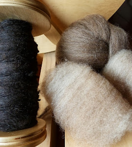 Ouessant Fleece and Fibre